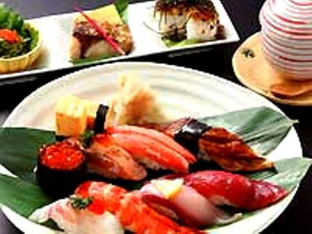 ぎふ初寿司お寿司ランチ