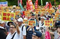 安保法廃止デモ