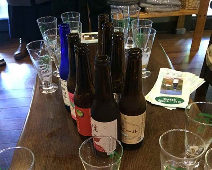 beer2飛騨産の農産物とコラボした地ビール8種