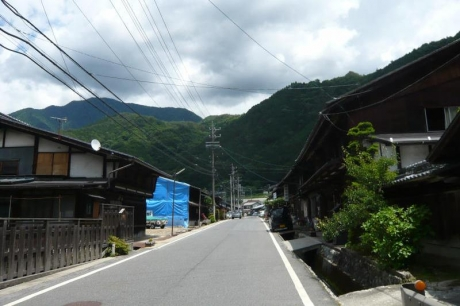須原宿の町並み