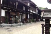 木曽路 福島 街並み (2)