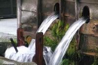 木曽路 福島 豊富な水が