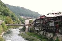 木曽路 福島 木曽川沿い (2)