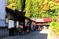 奈良井宿 宿場町入口