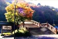 奈良井宿 木曽の大橋 (2)