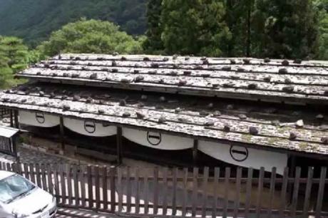 中山道贄川宿 - 関所