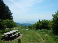文殊岳山頂