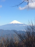 竜爪山からの富士山
