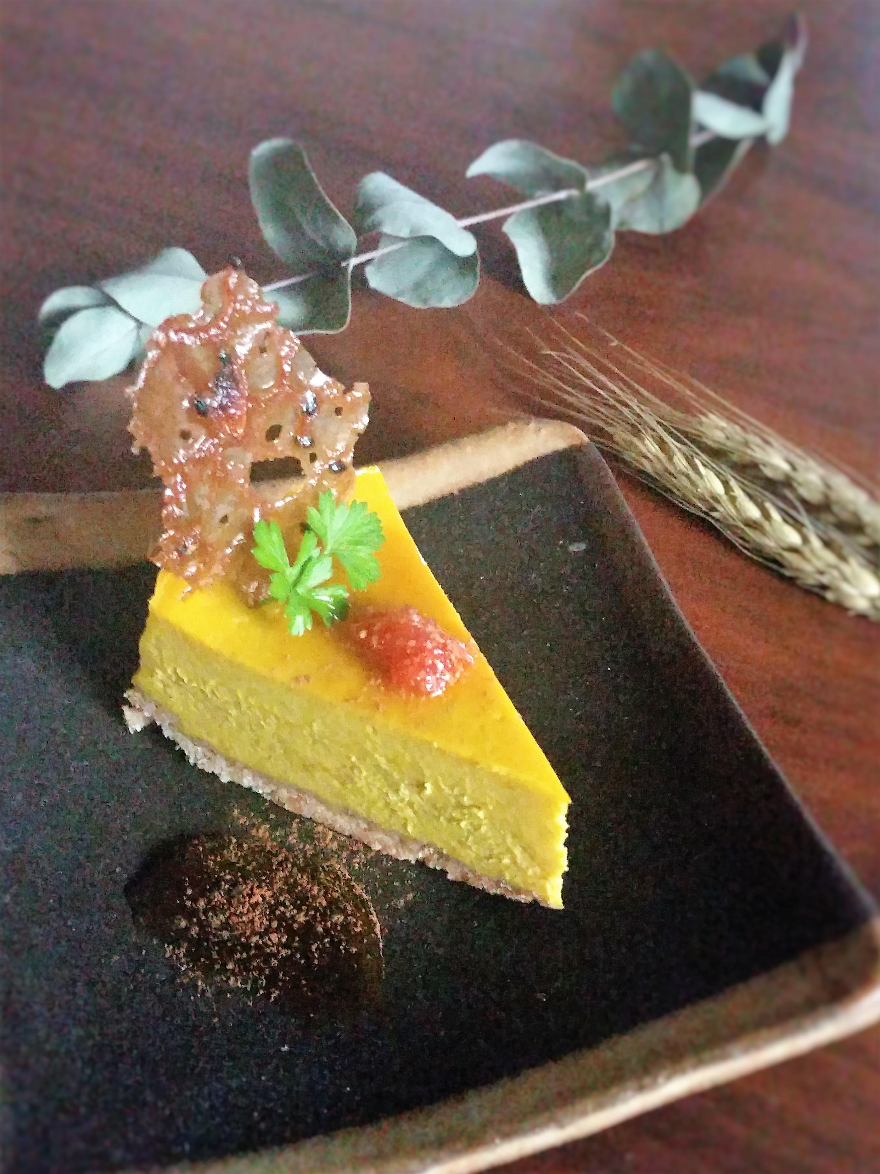 かぼちゃのチーズケーキ161015