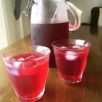 赤しそジュース2