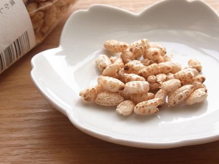 玄米と黒豆のクリスピー 無糖ココナッツオイル 農園菓子工房ホトトギス