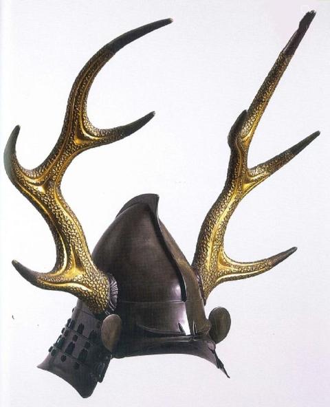 鹿のツノかぶと(18-19世紀)