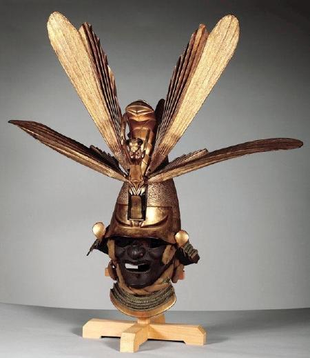 江戸期の蟷螂兜(18世紀)