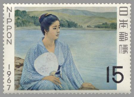 黒田清輝-湖畔