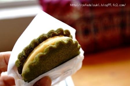 クッキー クル◇アイスサンド(抹茶)