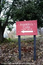 Franklin's Cafe◇看板