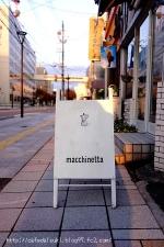 macchinetta cafe&zakka◇看板