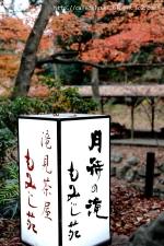 月待の滝 もみじ苑◇看板