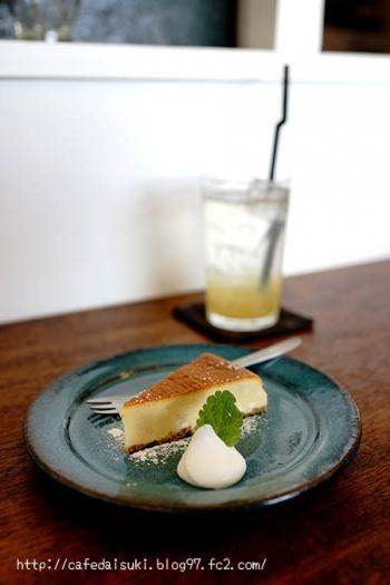 SATO◇桜のベイクドチーズ&パインとクローブ酢(ソーダ割り)