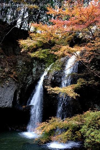 月待の滝◇茨城県大子町