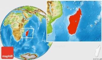 Madagascar physical-location-map-of-