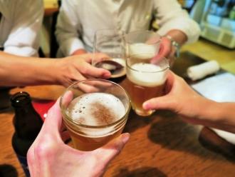 16-10-14 ビア乾杯