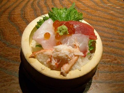 わらん県央店・H28・2 料理5ミニ海鮮丼