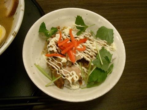 石黒・H28・3 ちゃーしゅう飯