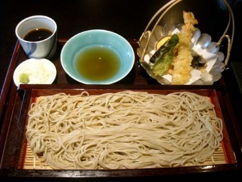 あさひ山蛍庵・H27・12 天麩羅せいろ蕎麦