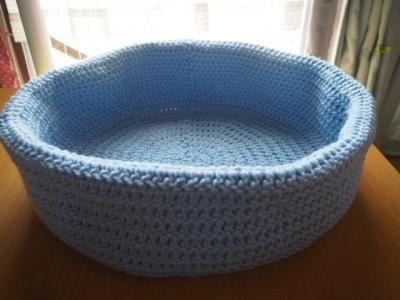 手編み アクリル ベッド