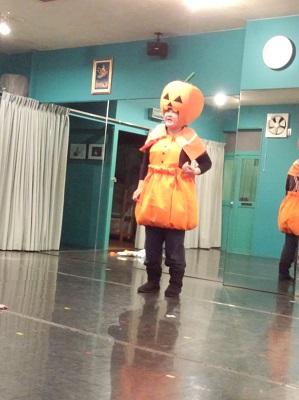 Megumi as Pumpkin