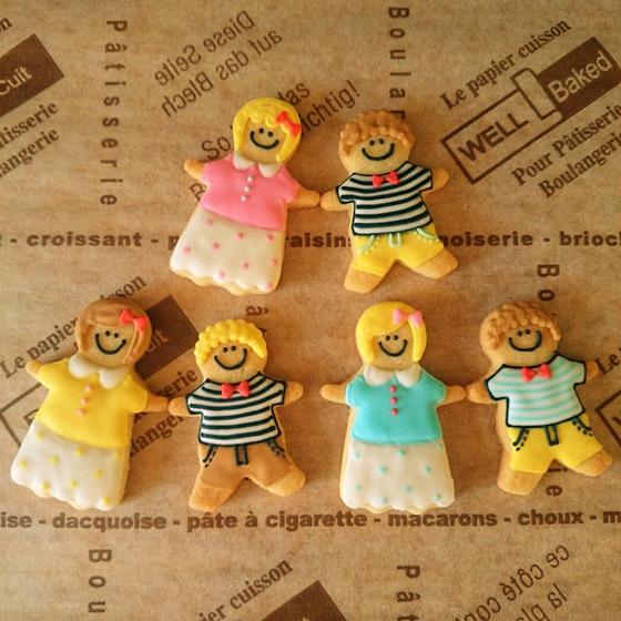 人形クッキー