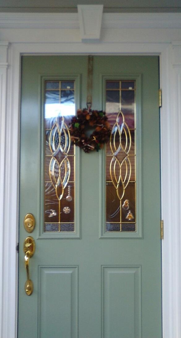 玄関ドアから1