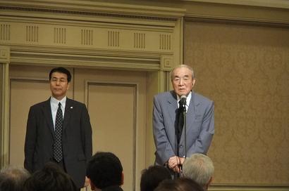 元内閣総理大臣中曽根康弘氏