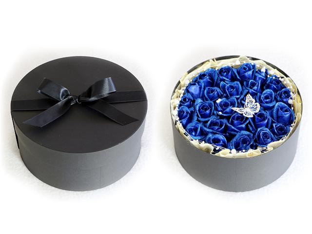 青 バラ きらめき クリスマス サプライズ
