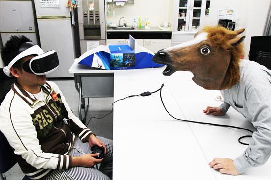 psvrと馬