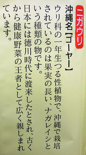 ゴーヤー麺2
