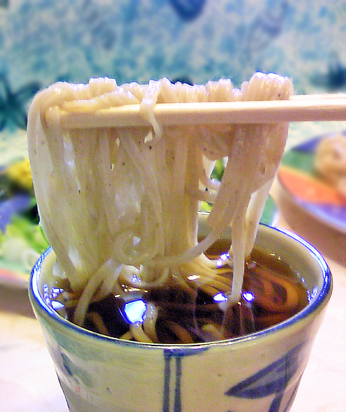 鳩豆うどんつゆ麺