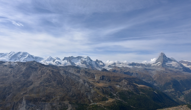 From Rothorn (3,103 m)