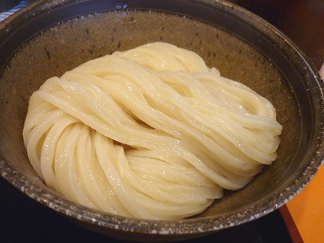 豚バラの肉汁つけ麺のうどん