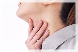人物 喉元