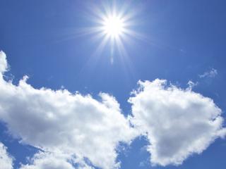 風景 太陽