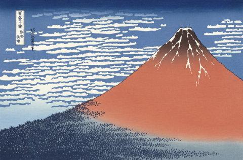 風景 富士山