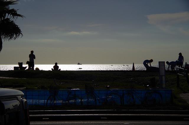 北条海岸夏の風景