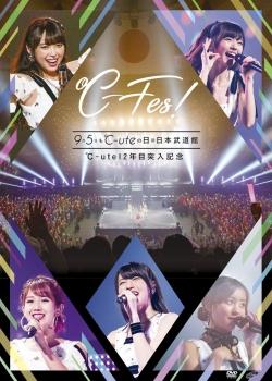 ~℃-Fes!Part1 9月5日も℃-uteの日 at日本武道館~dvd