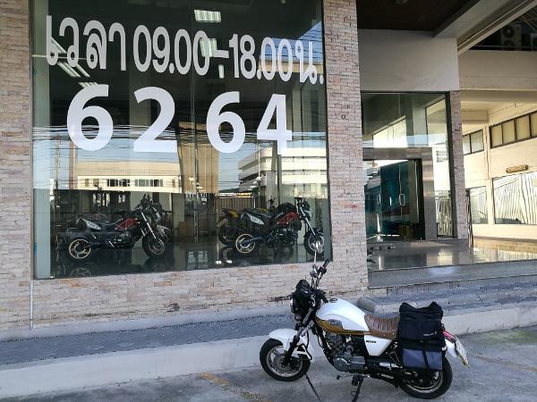 バンコク バイク Country125