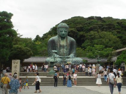 平成28年9月鎌倉の大仏鎌倉の大仏さま