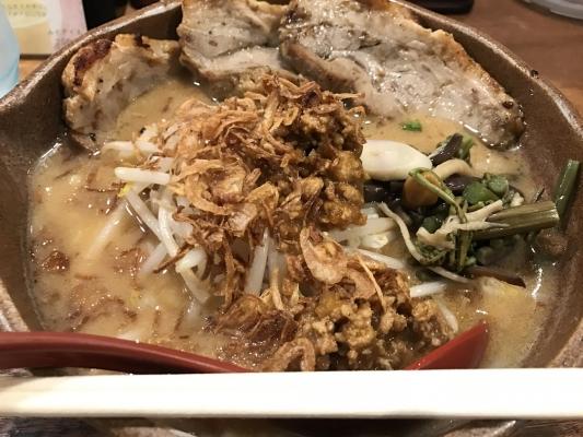 信州味噌 味噌漬け炙りちゃーしゅー麺