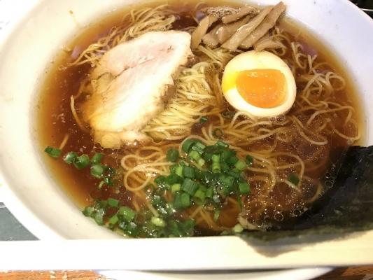 丸鶏中華そば(醤油)