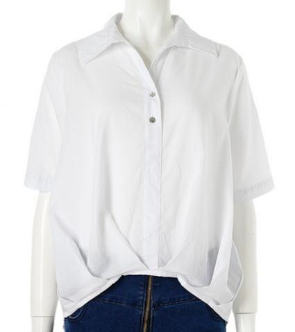 colorで買ったEdit Sheenバックロングスキッパーシャツ